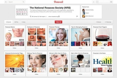 Join the NRS on Pinterest