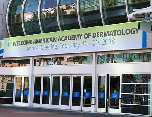 2018 AAD annual meeting in San Diego