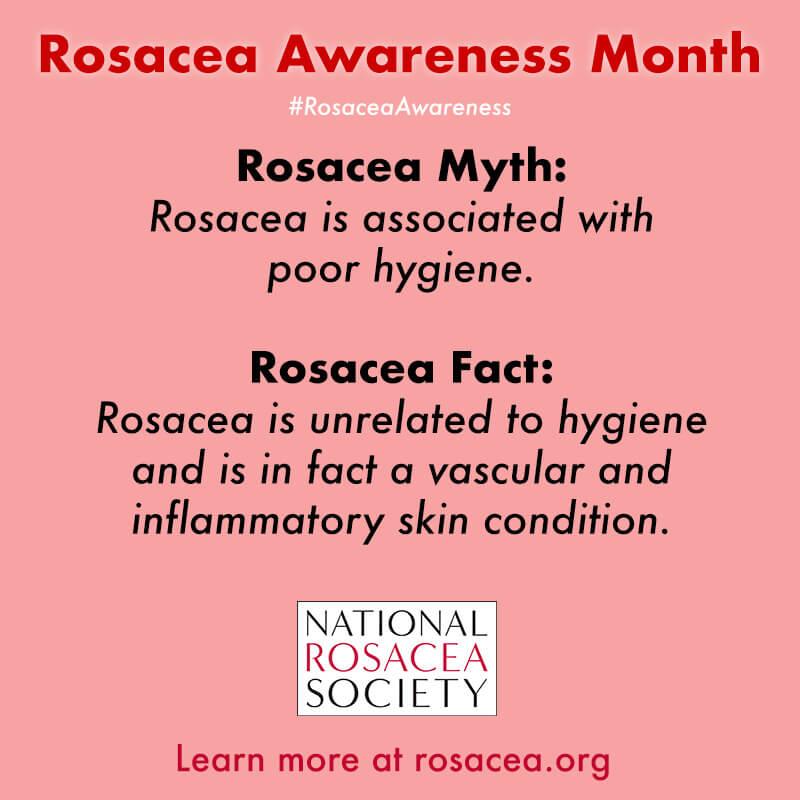Rosacea Myth: Hygiene